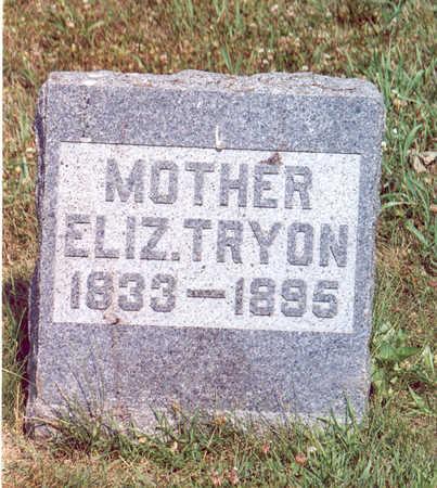 TRYON, ELIZABETH - Shelby County, Iowa | ELIZABETH TRYON