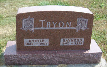 TRYON, MYRTLE - Shelby County, Iowa | MYRTLE TRYON
