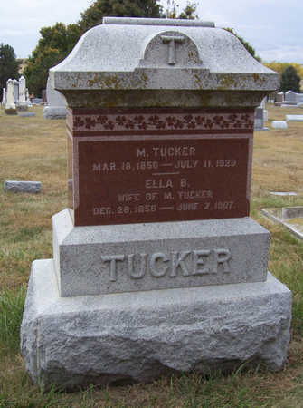 TUCKER, M. - Shelby County, Iowa | M. TUCKER