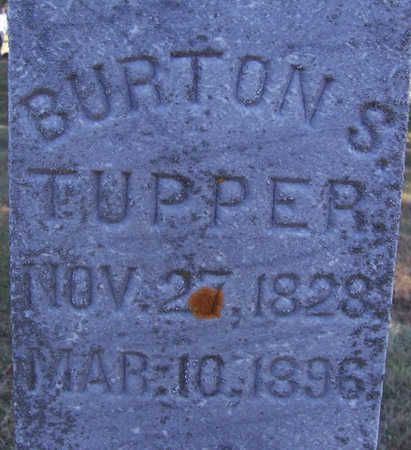 TUPPER, BURTON S. (CLOSE-UP) - Shelby County, Iowa | BURTON S. (CLOSE-UP) TUPPER