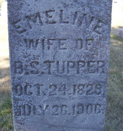 TUPPER, EMELINE (CLOSE-UP) - Shelby County, Iowa | EMELINE (CLOSE-UP) TUPPER