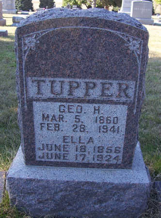 TUPPER, GEO. H. - Shelby County, Iowa | GEO. H. TUPPER