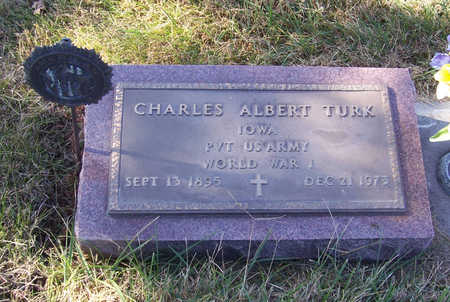 TURK, CHARLES ALBERT (MILITARY) - Shelby County, Iowa | CHARLES ALBERT (MILITARY) TURK