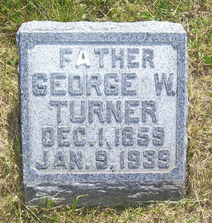 TURNER, GEORGE W. - Shelby County, Iowa | GEORGE W. TURNER