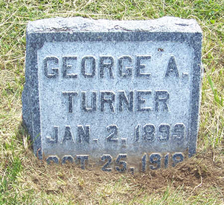TURNER, GEORGE A. - Shelby County, Iowa | GEORGE A. TURNER