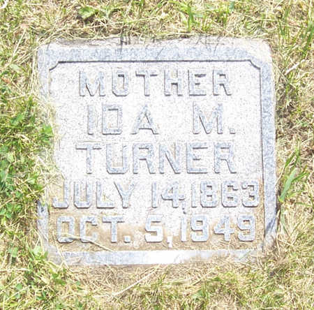 TURNER, IDA M. - Shelby County, Iowa | IDA M. TURNER