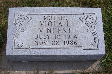 VINCENT, VIOLA L. (MOTHER) - Shelby County, Iowa | VIOLA L. (MOTHER) VINCENT