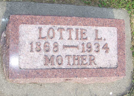 VOGE, LOTTIE L. - Shelby County, Iowa | LOTTIE L. VOGE