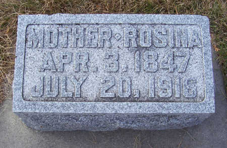 VON ESCHEN, ROSINA (MOTHER) - Shelby County, Iowa | ROSINA (MOTHER) VON ESCHEN