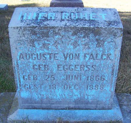 VON FALCK, AUGUSTE - Shelby County, Iowa | AUGUSTE VON FALCK