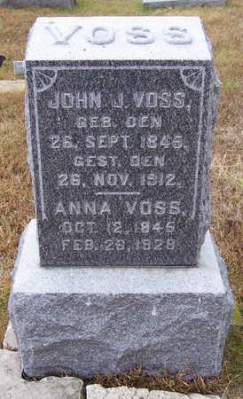 VOSS, JOHN J. - Shelby County, Iowa | JOHN J. VOSS