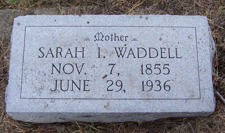 WADDELL, SARAH I. (MOTHER) - Shelby County, Iowa | SARAH I. (MOTHER) WADDELL