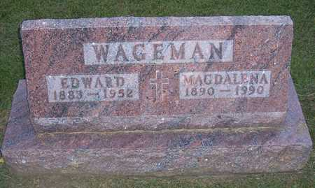 WAGEMAN, EDWARD G. - Shelby County, Iowa | EDWARD G. WAGEMAN