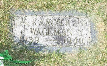 WAGEMAN, KARON K. - Shelby County, Iowa | KARON K. WAGEMAN