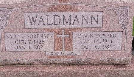 WALDMANN, ERWIN HOWARD - Shelby County, Iowa | ERWIN HOWARD WALDMANN