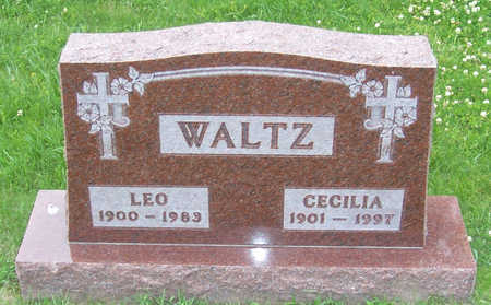 WALTZ, CECILIA - Shelby County, Iowa | CECILIA WALTZ