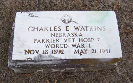 WATKINS, CHARLES E. (MILITARY) - Shelby County, Iowa | CHARLES E. (MILITARY) WATKINS