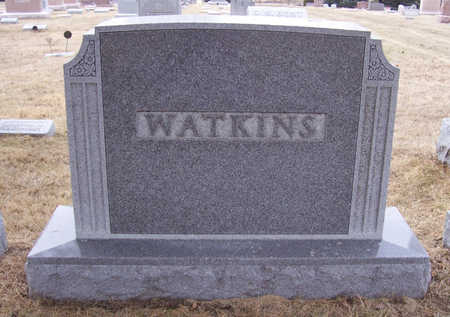 WATKINS, JAMES EDWARD & BESSIE F. (LOT) - Shelby County, Iowa | JAMES EDWARD & BESSIE F. (LOT) WATKINS