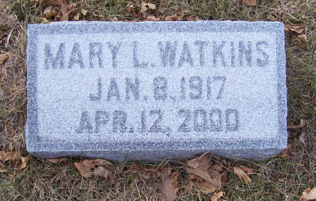 WATKINS, MARY LOUISE - Shelby County, Iowa | MARY LOUISE WATKINS