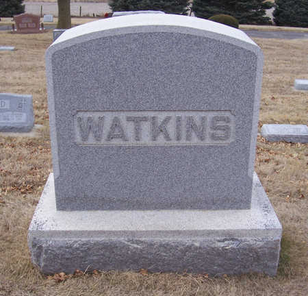 WATKINS, WILLIAM A. & ANNA K. (LOT) - Shelby County, Iowa | WILLIAM A. & ANNA K. (LOT) WATKINS