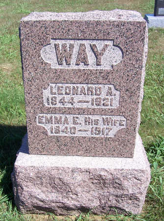 WAY, LEONARD A. - Shelby County, Iowa | LEONARD A. WAY