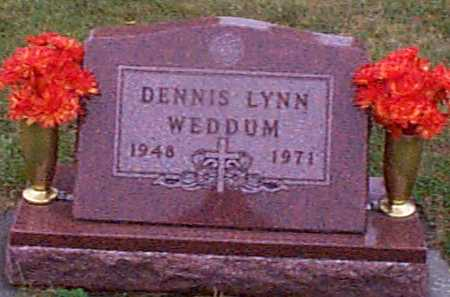 WEDDUM, DENNIS LYNN - Shelby County, Iowa | DENNIS LYNN WEDDUM