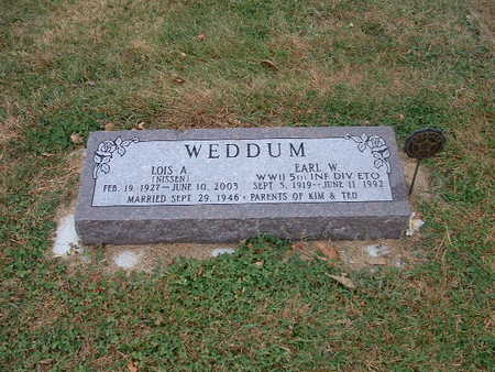 WEDDUM, EARL W - Shelby County, Iowa | EARL W WEDDUM