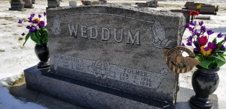 LANGE WEDDUM, MILDRED E - Shelby County, Iowa | MILDRED E LANGE WEDDUM