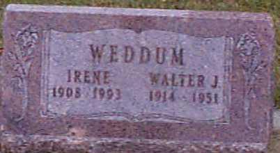 WEDDUM, WALTER - Shelby County, Iowa | WALTER WEDDUM