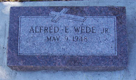 WEDE, ALFRED E., JR. - Shelby County, Iowa | ALFRED E., JR. WEDE