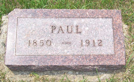 WEGNER, PAUL - Shelby County, Iowa | PAUL WEGNER