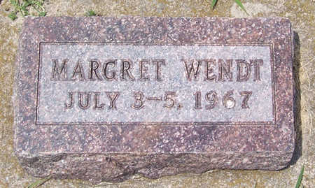 WENDT, MARGRET - Shelby County, Iowa | MARGRET WENDT
