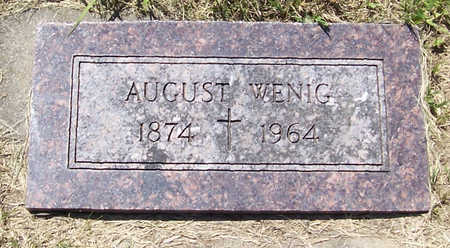 WENIG, AUGUST - Shelby County, Iowa | AUGUST WENIG