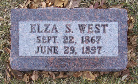 WEST, ELZA S. - Shelby County, Iowa | ELZA S. WEST
