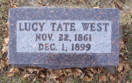WEST, LUCY - Shelby County, Iowa | LUCY WEST