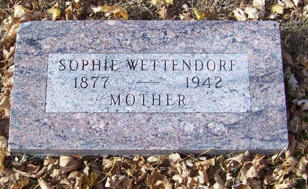 WETTENDORF, SOPHIE (MOTHER) - Shelby County, Iowa | SOPHIE (MOTHER) WETTENDORF