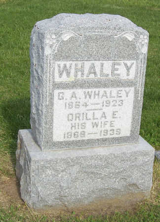 WHALEY, G. A. - Shelby County, Iowa | G. A. WHALEY
