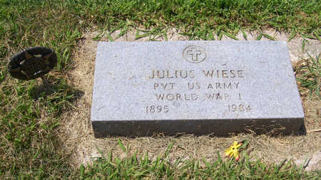 WIESE, JULIUS (MILITARY) - Shelby County, Iowa | JULIUS (MILITARY) WIESE