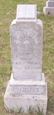 WIGHT, EDITH E. - Shelby County, Iowa | EDITH E. WIGHT