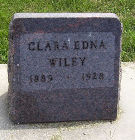 WILEY, CLARA EDNA - Shelby County, Iowa | CLARA EDNA WILEY