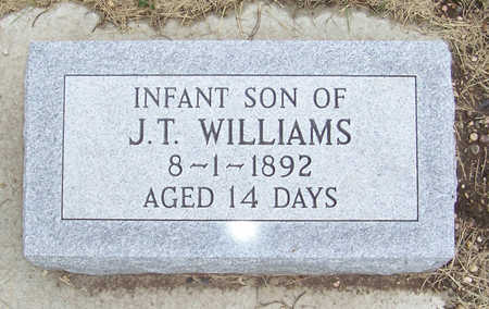 WILLIAMS, INFANT SON - Shelby County, Iowa | INFANT SON WILLIAMS