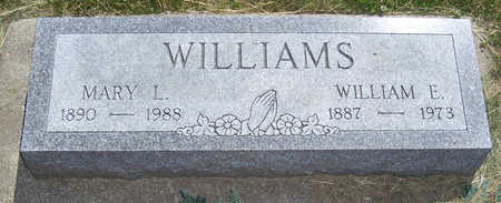 WILLIAMS, WILLIAM E. - Shelby County, Iowa | WILLIAM E. WILLIAMS