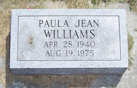 WILLIAMS, PAULA JEAN - Shelby County, Iowa | PAULA JEAN WILLIAMS