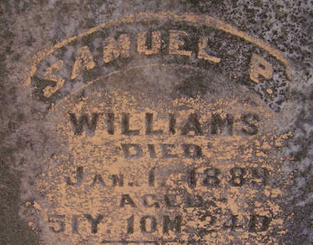WILLIAMS, SAMUEL P. (CLOSE-UP) - Shelby County, Iowa | SAMUEL P. (CLOSE-UP) WILLIAMS