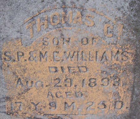 WILLIAMS, THOMAS P. (CLOSE-UP) - Shelby County, Iowa | THOMAS P. (CLOSE-UP) WILLIAMS