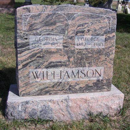 WILLIAMSON, GEORGE - Shelby County, Iowa   GEORGE WILLIAMSON