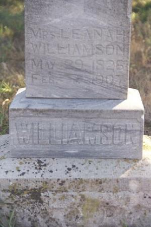 VAN AUSDALL WILLIAMSON, LEANAH - Shelby County, Iowa | LEANAH VAN AUSDALL WILLIAMSON