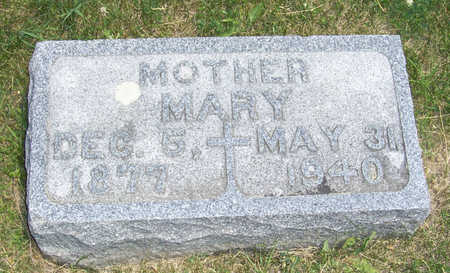 WINGERT, MARY (MOTHER) - Shelby County, Iowa | MARY (MOTHER) WINGERT