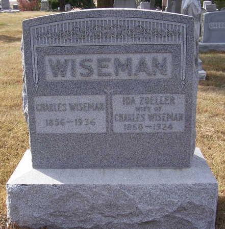 ZOELLER WISEMAN, IDA - Shelby County, Iowa | IDA ZOELLER WISEMAN