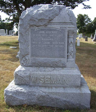 WISEMAN, BARBARA - Shelby County, Iowa | BARBARA WISEMAN